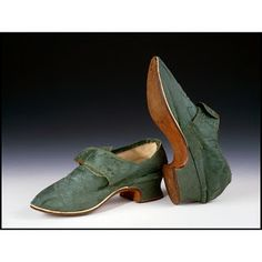 Silk Shoes, 1760-70