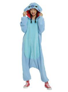 As PJs or a costume - get Stitched! // Disney Lilo Stitch Union Suit