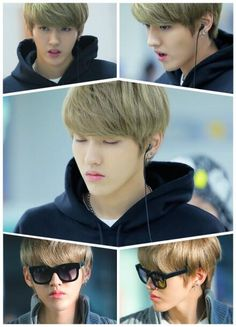 Kris is forever handsome~!! He will always have that god like look~ keke I LOVE YOU KRIS~!!