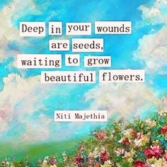 #wounds #healing #seeds #growth #spiritualgrowth #forgiveness #consciousness #mindfulness #love #kindness #compassion #emotionalhealing #selflove #hope #faith #inspiration #intention #gratitude #peace #enlightenment #wisdom #awakening #purpose #innerpeace