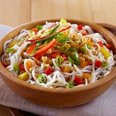 Zesty Tofu Shirataki Noodle Salad with Tangy Ponzu Sauce | The Biggest Loser Partners, Fitness, and Nutrition