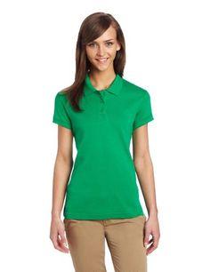 Womens Small Green Polo Shirt