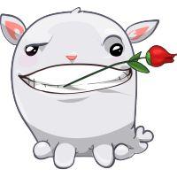 flower emoticon facebook