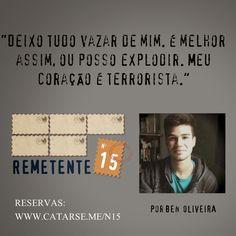 Remetente N15: Confira 14 trechos das cartas presentes no livro de mistério   Blog do Ben Oliveira