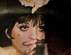 Liza Minelli in 'Cabaret', 1972.