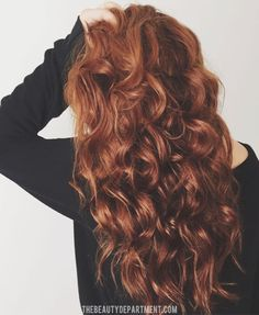 Why air drying works well for curling hair...blow drying straight prior to is counterintuitive.