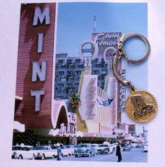 KeyChain from the MINT Las Vegas souvenir by dagutzyone on Etsy