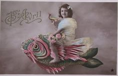 Wednesday's Attic: April Fool's Day Fish