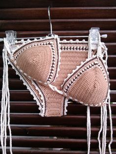 Deborah Bikini Triangle Crochet Bikini by GoodMoodCreations