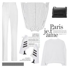 """""""How to Style a Sporty Chic Look for Travel in Paris"""" by outfitsfortravel ❤ liked on Polyvore featuring Givenchy, Acne Studios, adidas Originals, FOSSIL and contemporary"""