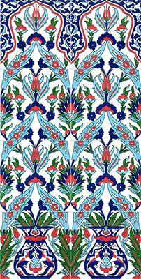 El Dekoru Panolar Turkish Art, Turkish Tiles, French Art, Textile Patterns, Ceramic Pottery, Kaftan, Tulips, Istanbul, Elsa