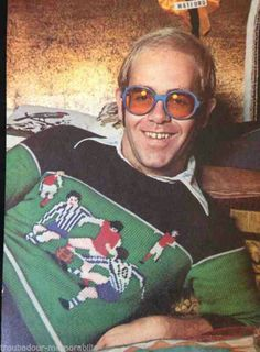 Young Elton John.