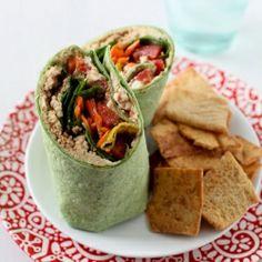 Wraps on Pinterest | Chicken Wraps, Quesadillas and Veggie Wraps