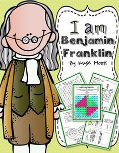 Benjamin Franklin ~ Mini Unit (Crafts, Activities, Foldabl