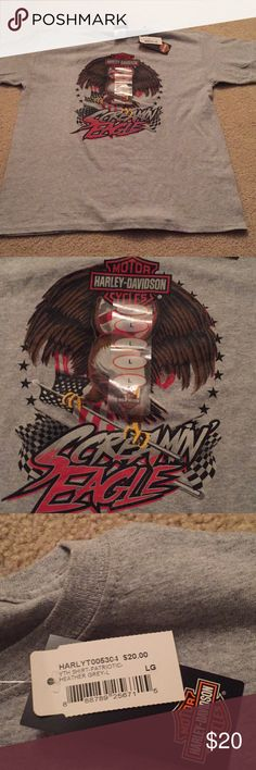 NWT Harley Davidson youth shirt NWT. Flawless. From a Harley store. Brand new! Youth size large-could work for a women's xs. Harley-Davidson Shirts & Tops Tees - Short Sleeve