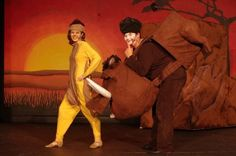 The Lion King Jr. I like the fact that the actor is in the middle of Pumba's body.