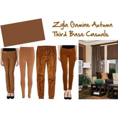 """Zyla Gamine Autumn: My Third Base"" by jeaninebyers on Polyvore"