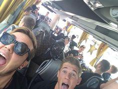 Back in Germany!!! Fanmeile Weltmeister Selfie