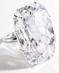 The Light of Golconda ring, a rare 33.03-carat #diamond