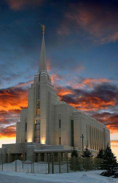 Rexburg Idaho...no I'm not Mormon, but this temple is beautiful.