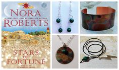 "I will be introducing these pieces at Saturday's Book Signing at Turn the Page. The individual items will be available through [Turn The Page Bookstore Cafe](http://ttpbooks.com/category/TGT2015.html) website next week! New to the Inspiring Women Jewelry Collection ""SASHA'S COLLECTION"""