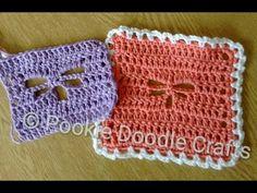Dragonfly Stitch Crochet Tutorial - YouTube