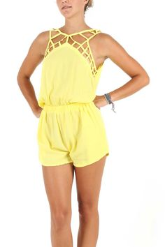 Contantine Jumpsuit, yellow mellow - 320.000RP