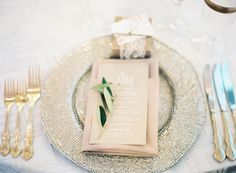 #place-settings Photography: Jen Huang Photography - jenhuangphotography.com Read More: http://www.stylemepretty.com/2014/03/10/peach-inspired-farm-wedding-at-carneros-inn/