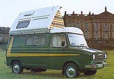 The campervans will incorporate a more compact kitchen and there is going to be a refrigerator and a stove. A campervan is typically a heavy motor vehicle. Camper Caravan, Rv Campers, Camper Trailers, Mobiles, Cozy Rainy Day, T1 Samba, Classic Campers, Classic Cars British, Vintage Vans