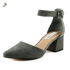 Steve Madden Dainna Women US 5.5 Gray Heels - Steve madden pumps for women (*Amazon Partner-Link)