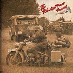 Every form of two wheeled military transport at The War and Peace Revival 2016.  Book your tickets now to The War and Peace Revival 2016. And bring your military motorcycle. #Vintage #History #motor #motorcycles #vehicles #transport #ww1 #ww2 #nortan #bsa #wartime #warandpeacerevival #motorbike #bike #livinghistory #homefront #tyres #exhaust #parts #helmets #travel #speed #ride #offroad #paratrooper