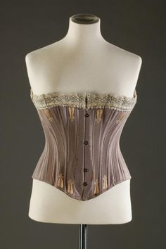 """Friday Treat Time & this week I'm loving these late century corsets from the FM collection :-)"" Corset Underwear, Victorian Corset, Waist Trainers, Vintage Fashion, Silk, Corsets, Spoon, Shapes, Tops"