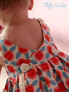 Swoon - that back! Bay Top (or Dress) by Brownie-Goose Bundle UP - A Pattern Collection: You Had Me at BG Little Dresses, Little Girl Dresses, Girls Dresses, Wrap Dresses, Pageant Dresses, Party Dresses, Bridesmaid Dresses, Toddler Outfits, Kids Outfits