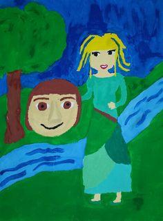 Kosjenkin svijet Grinch, Painting, Art, Art Background, Painting Art, Kunst, Paintings, Performing Arts, Painted Canvas