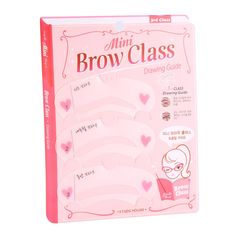3 Pcs Pro Reusable Eyebrow Stencil Set Eye Brow DIY Drawing Guide Styling Shaping Grooming Template Card Easy Makeup Beauty Kit