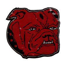 #sportpatch # patch #letterman #varsity #americana #champs #school #team #sports #vintage #antique #design #graphic #illustration #felt #chenille #singleneedle #chainstitch #champions #america #mascot #illustration #character #nostalgia #bulldog by sportpatch