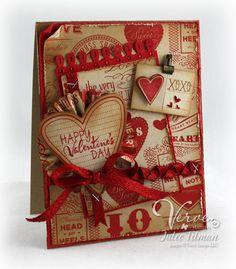 Postcard Valentine - Poetic Artistry