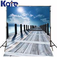 300Cm*200Cm(About 10Ft*6.5Ft)T Background Longbridge Sea Sun Photography Backdropsthick Cloth Photography Backdrop 3202 Lk