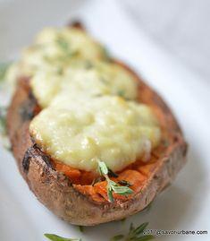 cei mai buni cartofi dulci copti Mai, Potato Recipes, Cooking Time, Baked Potato, Potatoes, Baking, Ethnic Recipes, Food, Potato