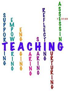 Teaching- for my teaching portfolio?
