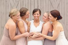 Neutral Bridesmaid Dresses - Belle The Magazine