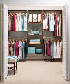No closet solutions diy mesmerizing closet ideas bedroom with no closet small closet solutions small closet . no closet solutions diy Shelves In Bedroom, Closet Shelves, Closet Storage, Diy Storage, Storage Shelves, Feng Shui, Placard Simple, Dorm Room Closet, How To Organize Your Closet