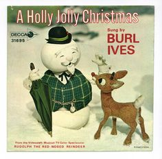 Burl Ives - A Holly Jolly Christmas / Rudolph the Red-Nosed Reindeer