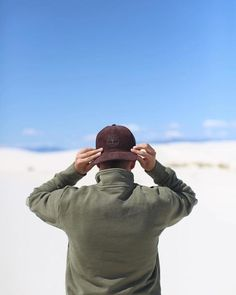 When you turn around the baseball hat you know the adventure's about to get real. #Timberland #ModernTrail