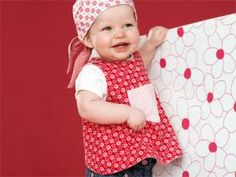 Blickpunkt für kleine Mädchen: Süße Wendeschürze