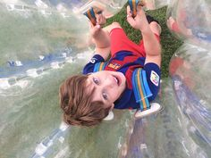 Happiness is - Bumper ball at your sports party Bubble Soccer, Sports Party, Happiness, Action, Group Action, Bonheur, Being Happy, Happy