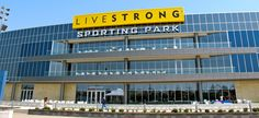 LIVESTRONG Sporting Park, home to Sporting Kansas City soccer, KCK