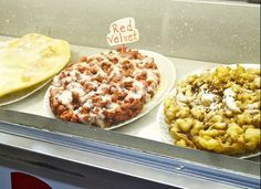 Red Velvet Funnel Cake - Florida State Fair - I might have to try :)