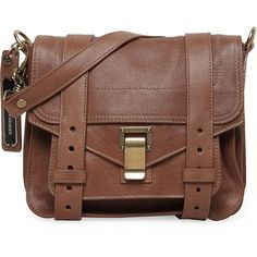 Proenza Schouler PS1 Pouch ($1,325) ❤ liked on Polyvore