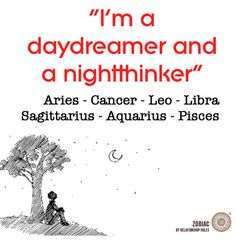 Dreamer by day, Thinker by night